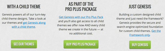Genesis Packages